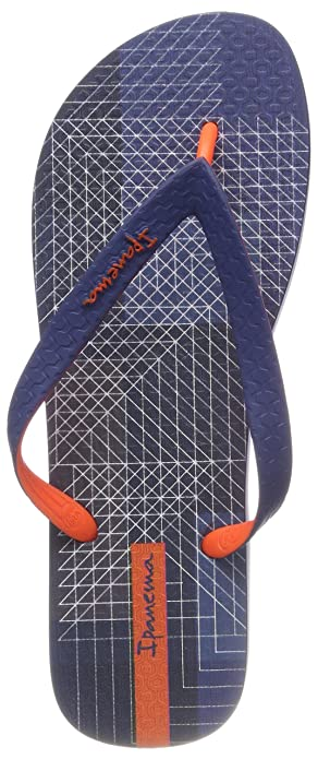Ipanema Parati III AD, Chanclas para Hombre, Multicolor (Blue/Orange 8900), 43/44 EU