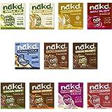 Nakd Fruit & Nut Bars Mixed Case (44 x Bars)
