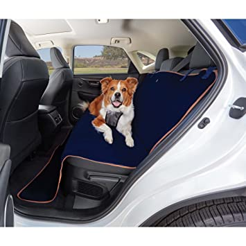Amazon.com : Good2Go Quilted Bench Seat Cover for Pets in Blue, 58 ... : quilted bench seat cover - Adamdwight.com