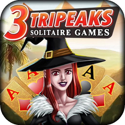 3 Tripeaks Solitaire Games for $<!--$0.00-->