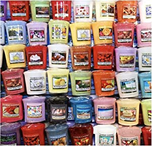 Yankee Candle Votives - Grab Bag of 10 Assorted Votive Candles (10 Ct Food Fragrances Mixed)