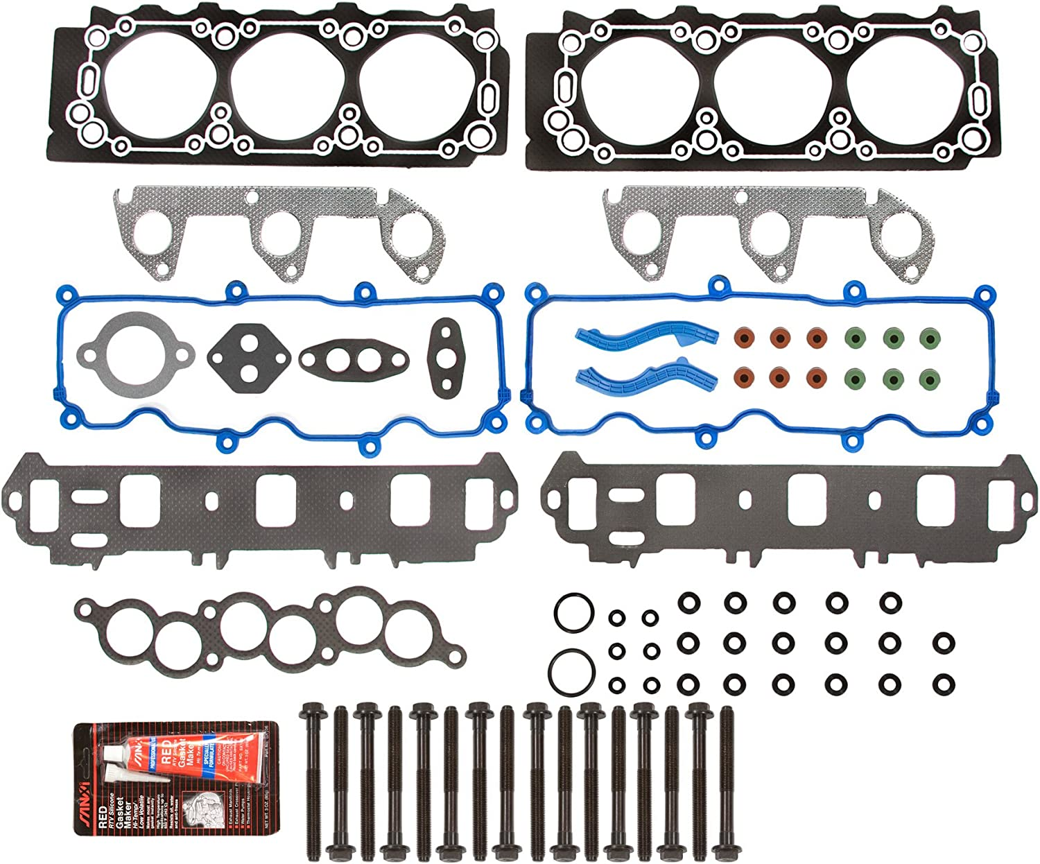 Replacement Parts Evergreen HSHB8-21400-2 Cylinder Head Gasket Set ...