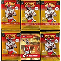 $39 » NEW 2021 Panini SCORE Football Cards - 5 FACTORY Sealed Packs - 12 Cards Per Pack…