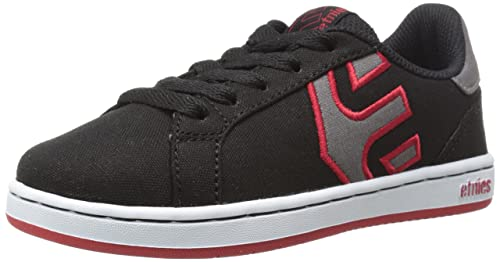 7615f60649f08c Etnies Unisex Kids' Fader Ls Skateboarding Shoes, Black (Black/White/Red978