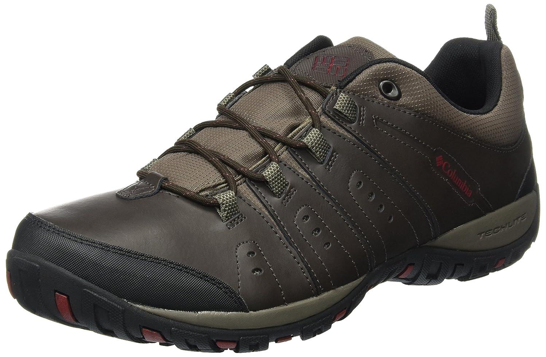 Marron (Cordovan, Garnet rouge) 41 EU Columbia BM3923 Chaussures de Randonnée Basses - Homme