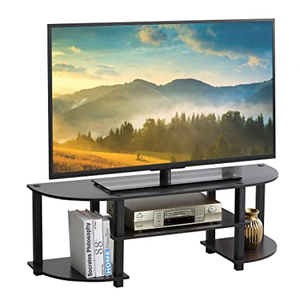 Amazon Com Furevol Arau Simple Tv Stand For Tv Up To 42 Inch Mocha
