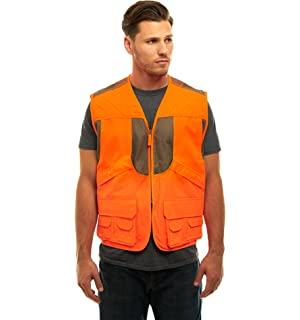 8b319c6766692 TrailCrest Men's/Ladies Blaze Orange Safety Deluxe Front Loader Vest With  Multiple Pockets