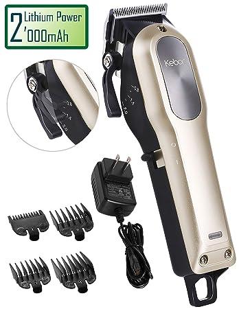 Amazon Kebor Hair Clipper For Men Cordless Built In Huge