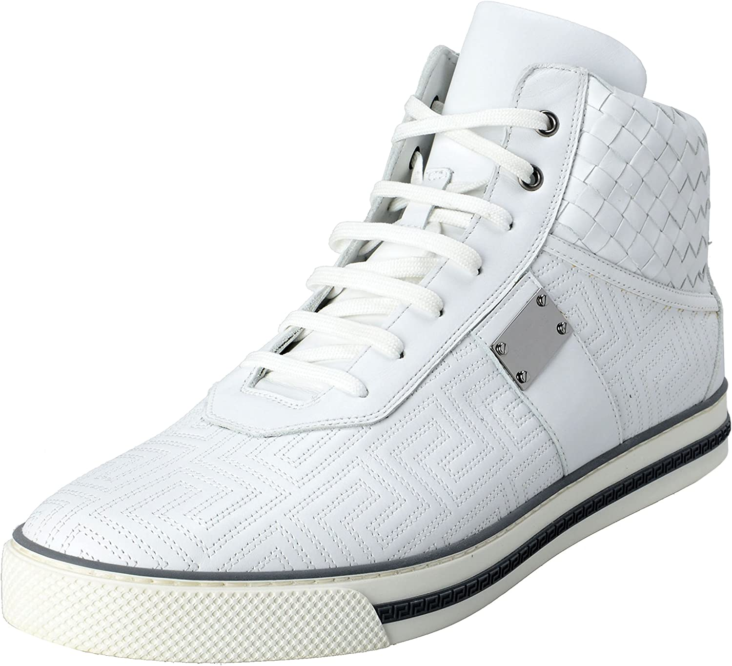 Leather Hi Top Sneakers Shoes