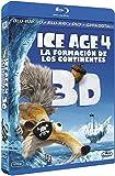 Ice Age 4: La Formacion De Los Continentes Blu-Ray 3d (Blu-Ray 3d + Blu-Ray 2d) [Blu-ray]