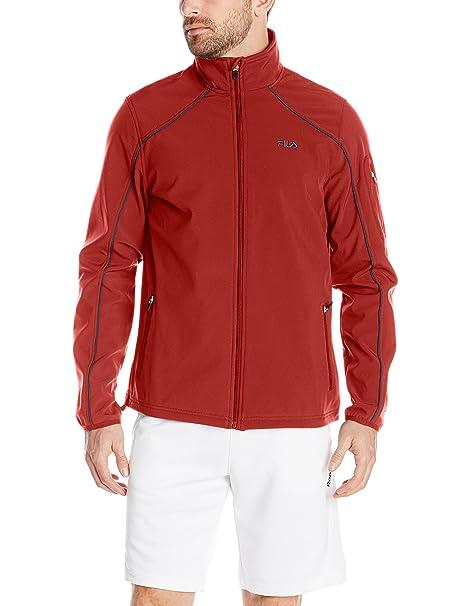 Amazon.com   Fila Tennis Men s Bulls Eye Bonded Jacket 212af84ae417b