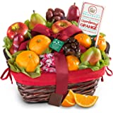 Golden State Fruit Organic Fruit & Gourmet Holiday Gift Basket