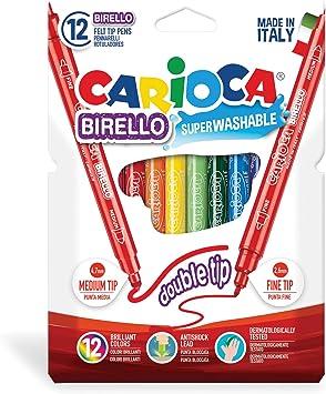 Carioca A53512012 - Pack de 12 rotuladores: Amazon.es: Oficina y papelería