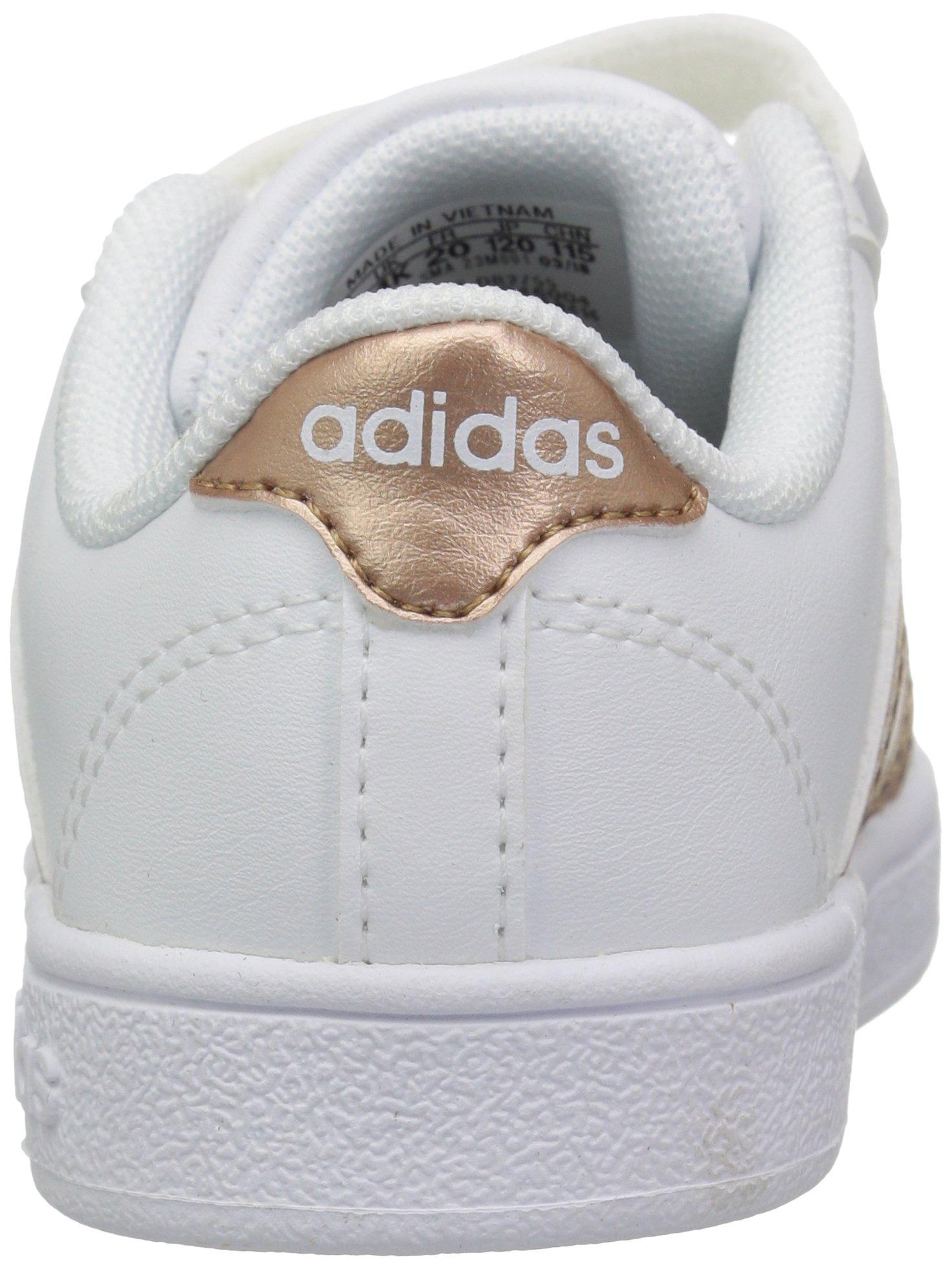 adidas Performance Baby Baseline, White/Copper Metallic/Black, 6K M US Toddler by adidas (Image #2)