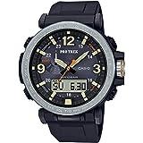 Casio Men's Pro Trek Japanese-Quartz Watch with Resin Strap, Black, 23.77 (Model: PRG-600-1CR)