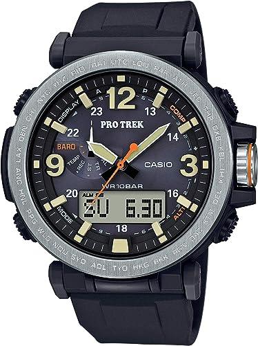 Casio Men's PROTREK Japanese Quartz Watch with Resin Strap, Black, 23.77 (Model: PRG 600 1CR)