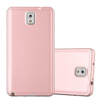 Cadorabo Funda para Samsung Galaxy Note 3 en Metal Oro Rosa - Cubierta Protección de Plástico Duro Super Delgada e Inflexible con Antichoque - Case ...