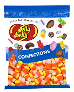 Jelly Belly Candy Corn - 1 Pound (16 Ounces) Resealable Bag - Genuine, Official, Straight from the Source
