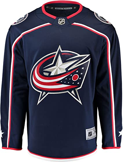 columbus blue jackets home jersey