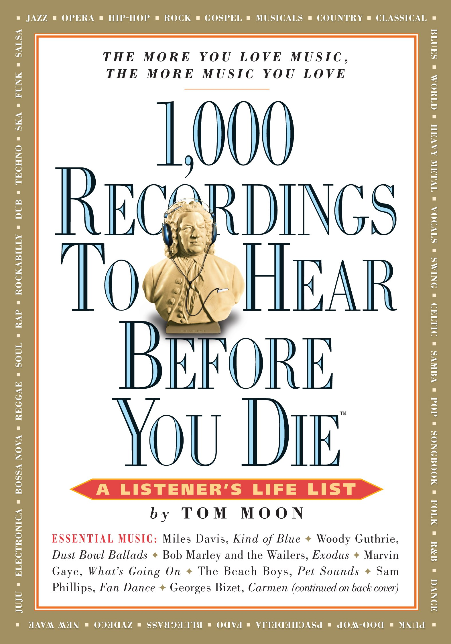 1, 000 Recordings to Hear Before You Die (1, 000 Before You Die): Tom Moon:  0019628139634: Amazon.com: Books
