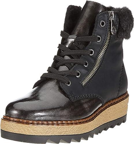 Sonderangebot Damen Schuhe rieker schwarz Stiefeletten