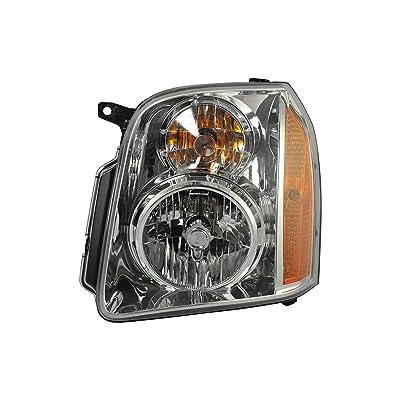 Driver Side Headlight Headlamp for 2007-2014 GMC Yukon, Yukon XL GM2502265 20969894 - Includes The Bulb: Automotive