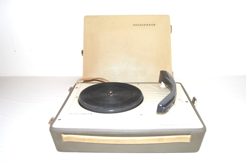 Tocadiscos portátil Telefunken Musikus 105 con aguja de los ...
