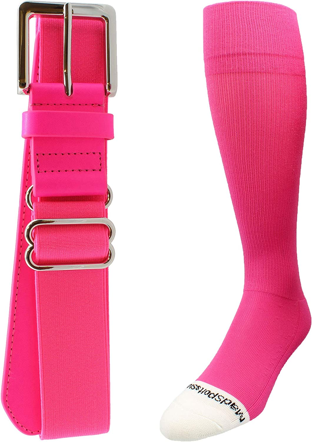 Pro Line Softball Socks and Belt Combo Youth and Adult