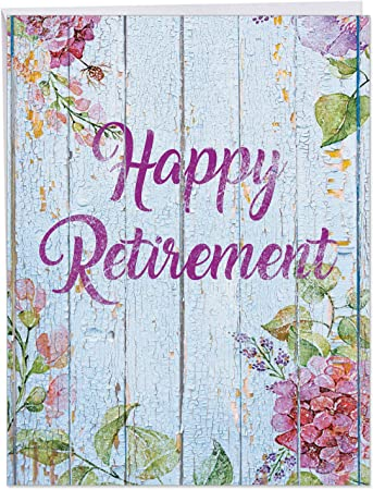 Retirement greetings card