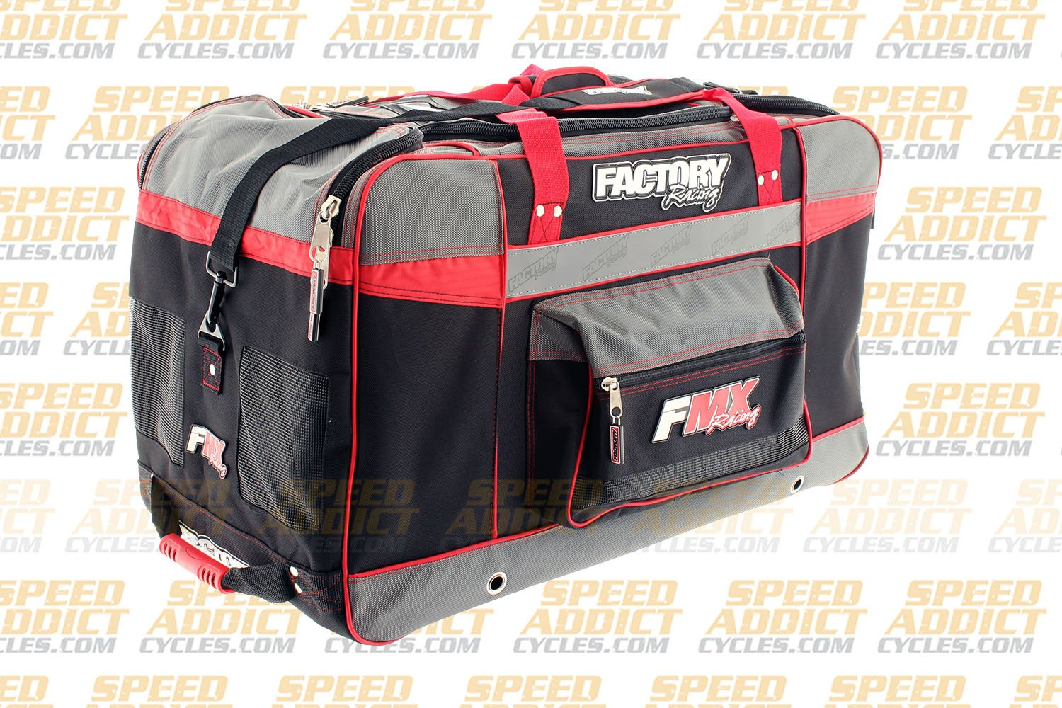 Factory FMX Motorcross Gear Bag XLarge Red by Factory Racing (Image #3)