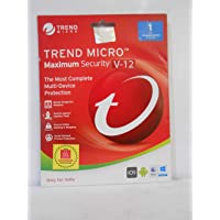 Trend Micro Maximum Security (1user / 1Year Activation Code Only)