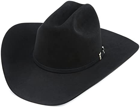 99179e4222b Resistol Men s Black Gold Hat at Amazon Men s Clothing store  Cowboy ...