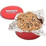 David's Cookies Chocolate Chunk Fresh Baked Cookies 1 Lb. Gift Tin