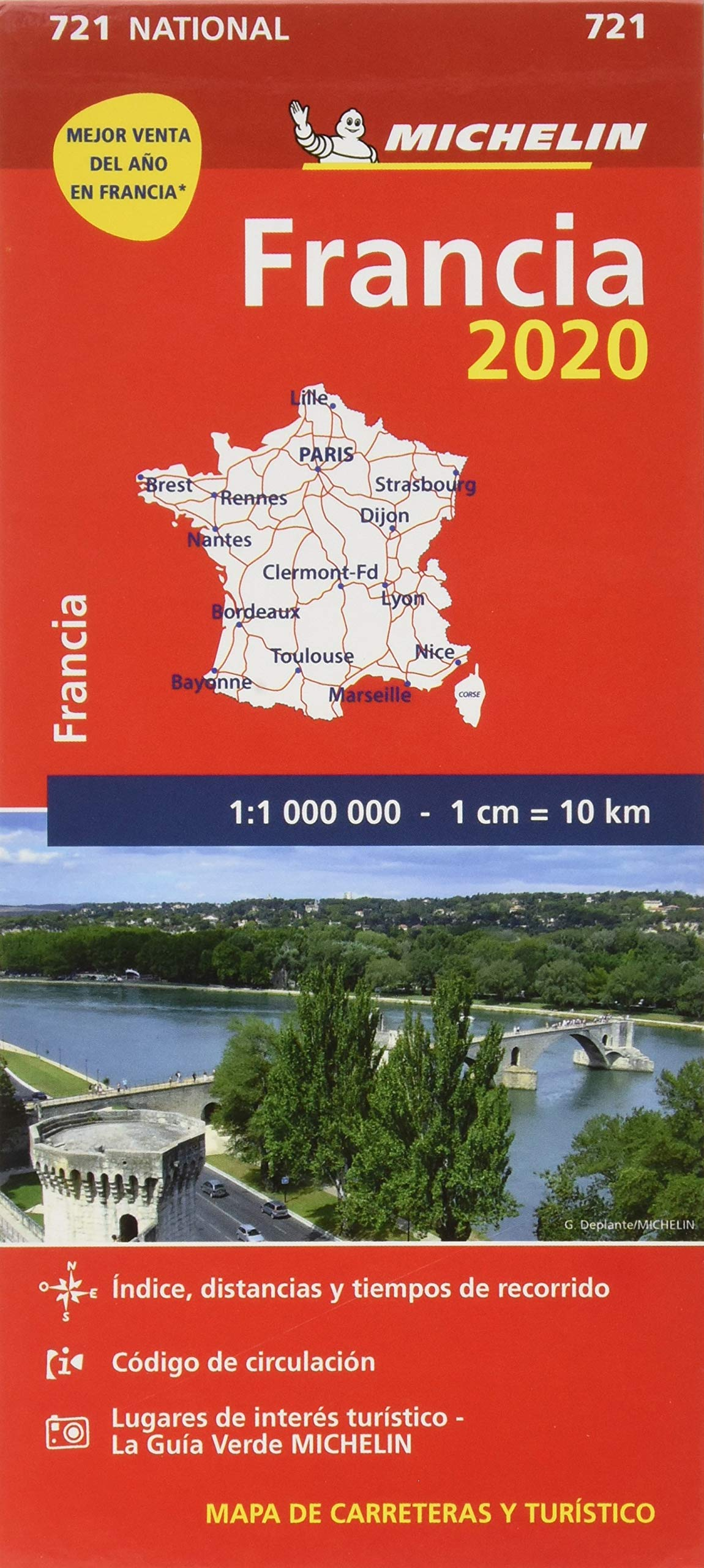Mapa National Francia 2020 (Mapas National Michelin): Amazon.es: Vv.Aa, Vv.Aa: Libros