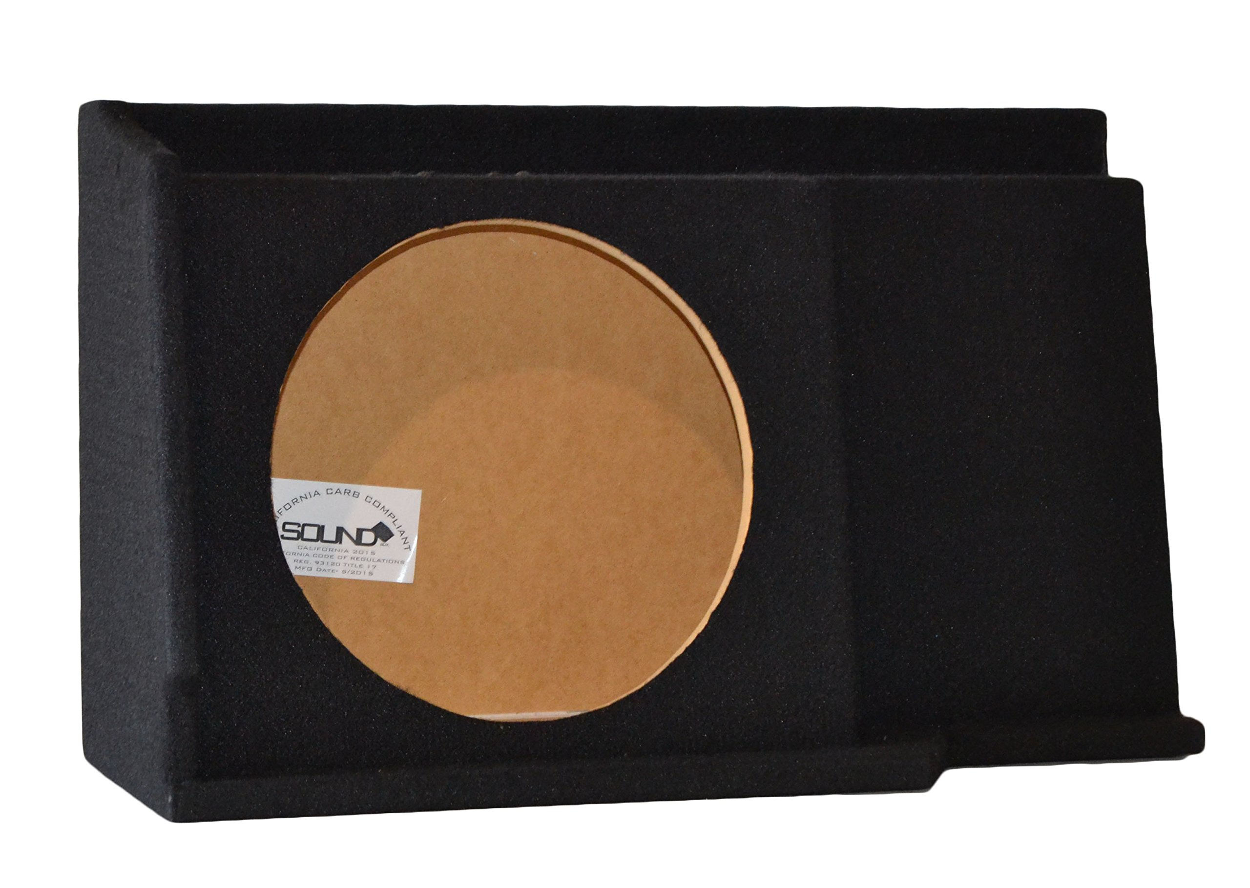 Chevy Silverado / GMC Sierra Ext Extended Cab Single 12'' Subwoofer Enclosure Sub Box 1999-2006, CARB COMPLIANT MDF! DONT BUY CHEAPER NON COMPLIANT MDF!