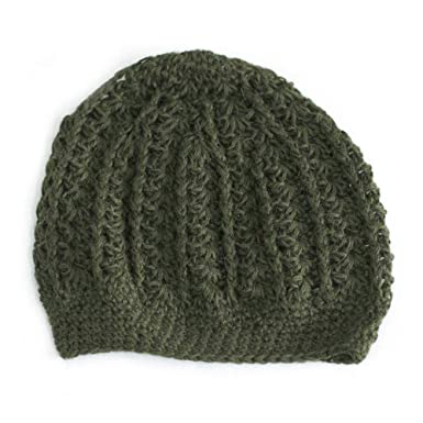 Amazon.com  NOVICA Green 100% Handmade Alpaca Wool Hat b1f2d9c5c07