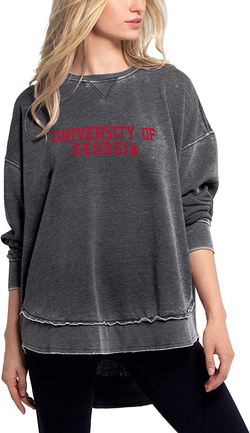 chicka-d NCAA womens Pullover Campus Sweatshirt