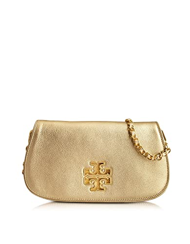 1288e6cdf7 Tory Burch Designer Handbags Britten Golden Clutch: Handbags: Amazon.com