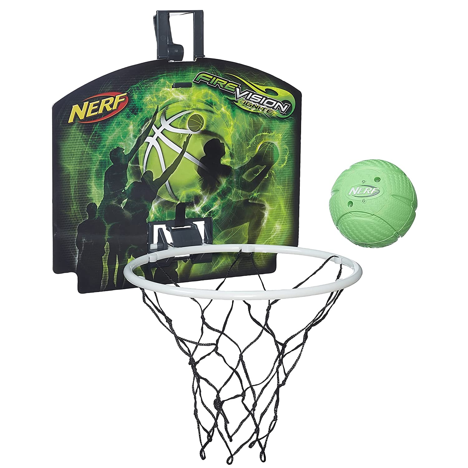 Amazon.com: Nerf Fire Vision Ignite Nerfoop Set: Toys & Games