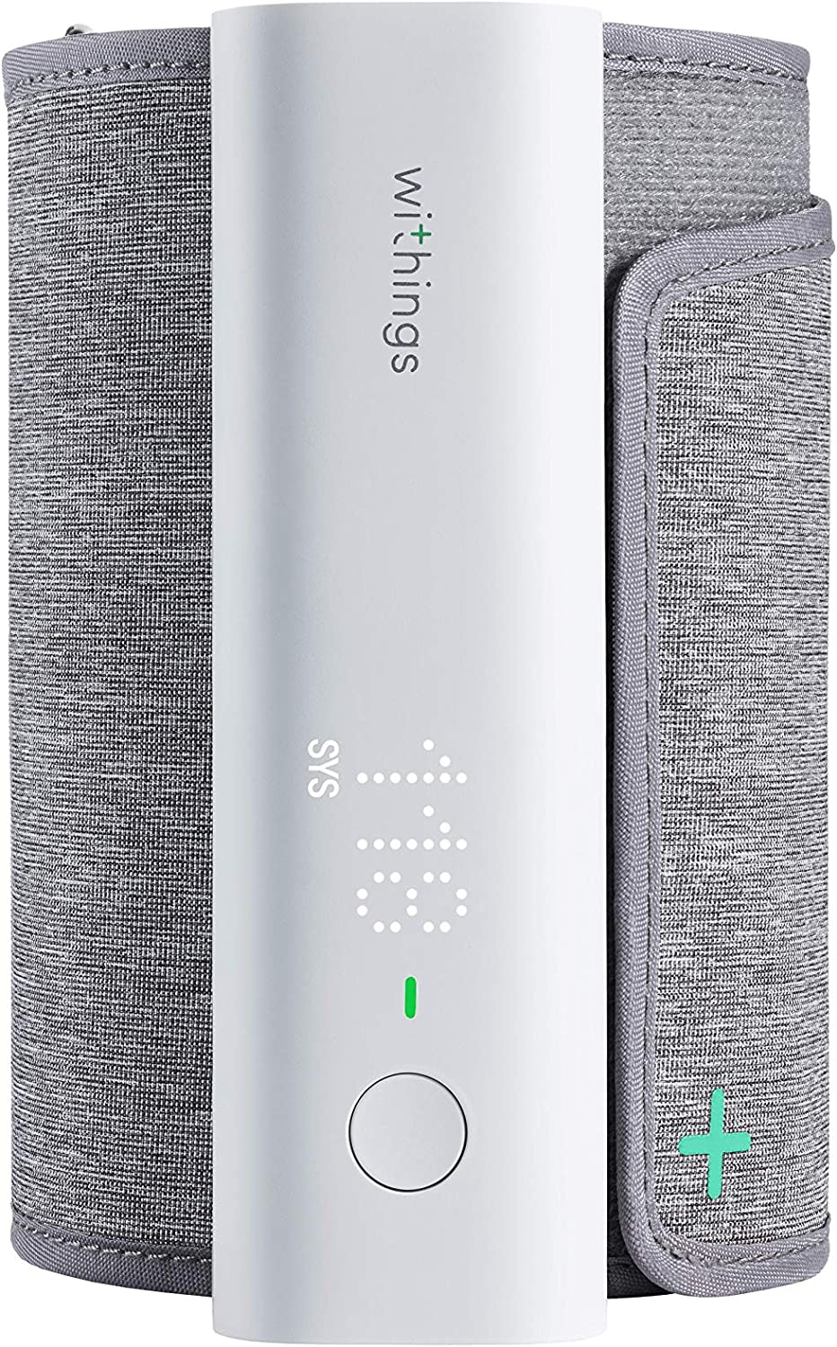 Withings BPM Connect - Tensiómetro de brazo digital, Bluetooth y Wifi, Aplicación Health Mate