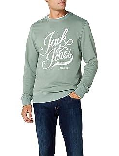 JACK   JONES Herren Sweatshirt Jorblog Sweat Crew Neck 8de2c7d78d