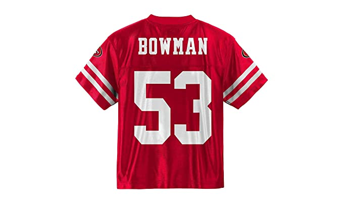 553f07d9ebc NaVorro Bowman San Francisco 49ers Red Home Player Jersey Infants Toddler  (4T)