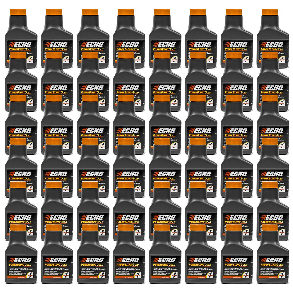 48PK Echo Oil 2.6 oz Bottles 2 Stroke Cycle Mix for 1 Gallon - Power Blend 6450001 by Replaces Echo