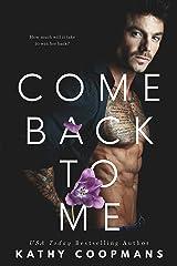 Come Back To Me Kindle Edition