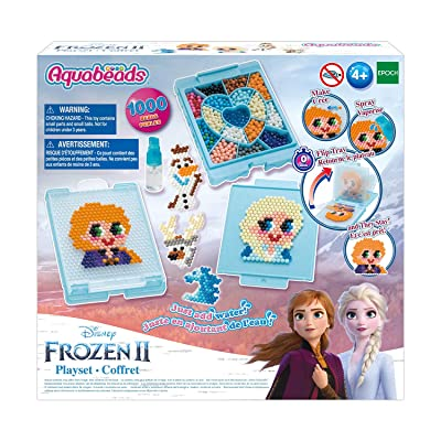 Aquabeads Disney Frozen 2 Playset, Kids Crafts, Beads, Arts and Crafts, Complete Activity Kit: Toys & Games