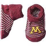 998b28017e2 Two Feet Ahead NCAA Minnesota Golden Gophers Infant Stripe Gift Box  Booties