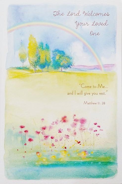 El Señor da la bienvenida a tu ser querido – thinking of you con ...