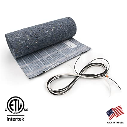 30 Sq Ft 120v In Floor Heated Underlayment For Laminate And
