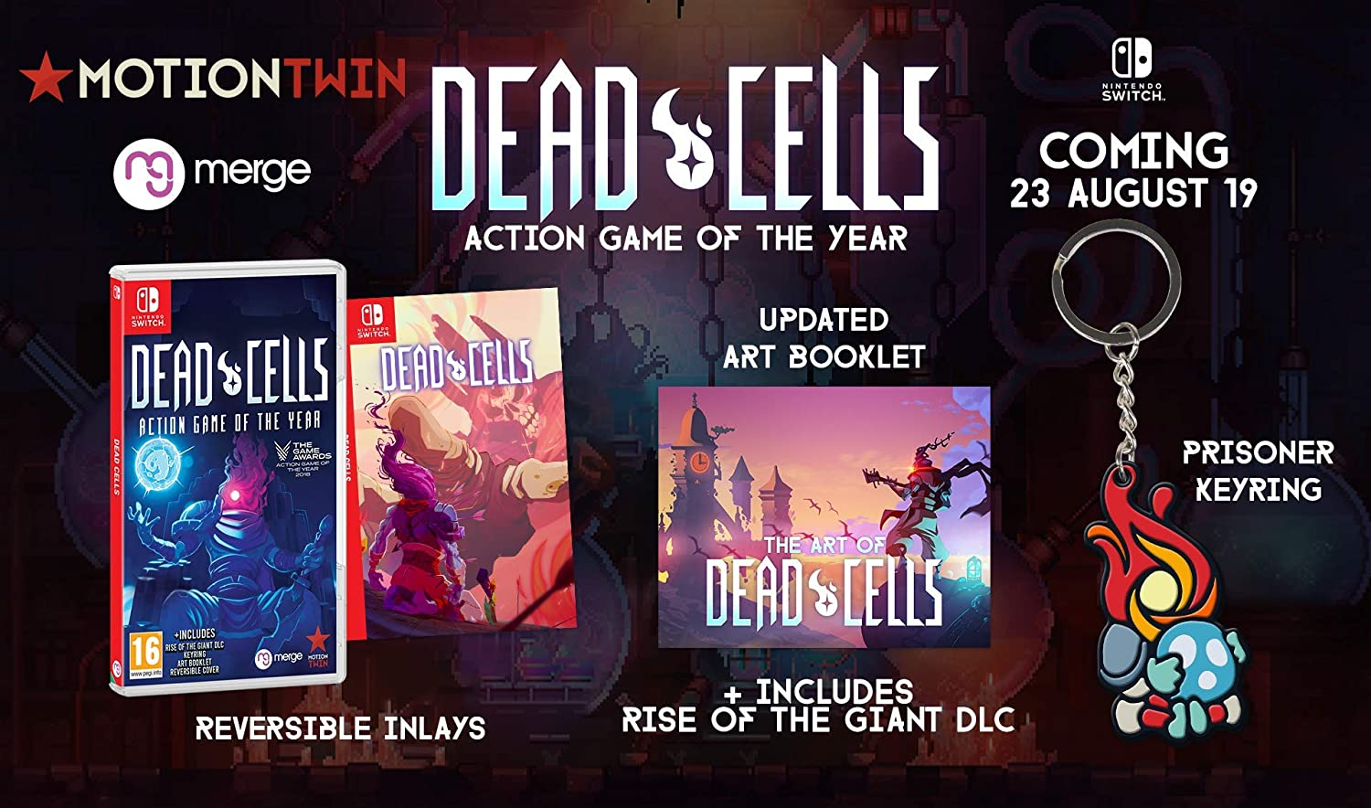 Dead Cells - Action Game of The Year [Importación francesa ...