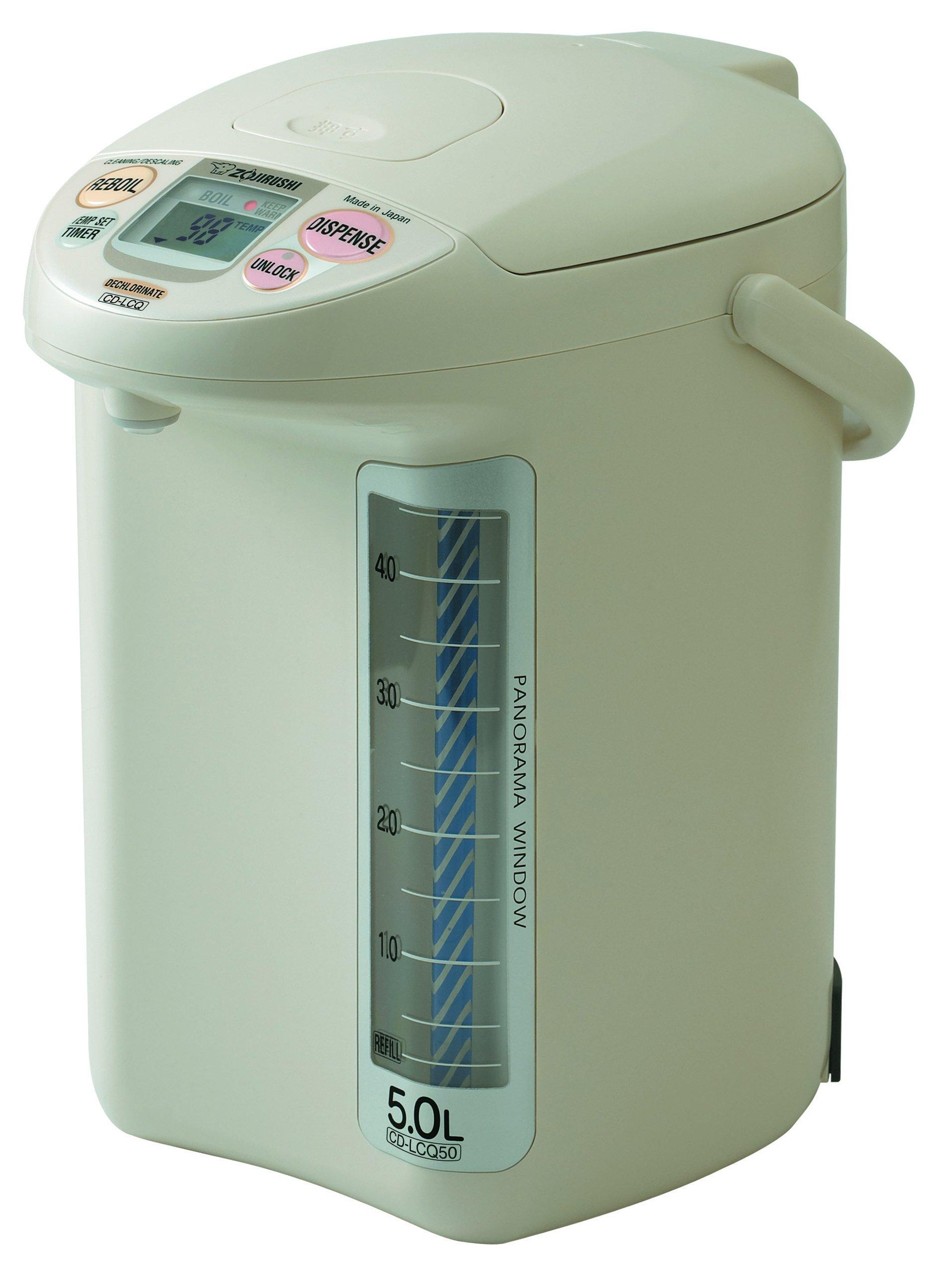 Zojirushi Microcomputer Type Electric Hot Water Pot Cd-lcq50-wg (Ac220-230v)